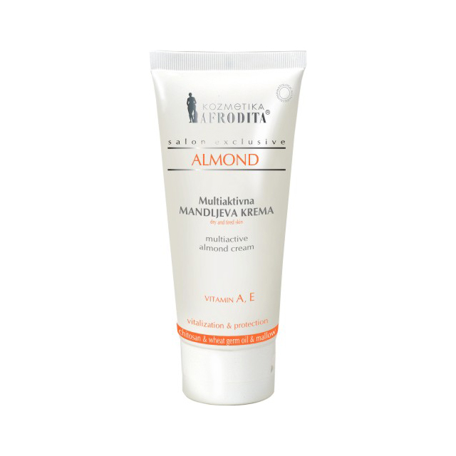 Almond Cream Dry and Tired Skincare 200ml
